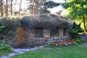Nature Sanctuary - et af de mange organiske huse på Findhorn Foundation.