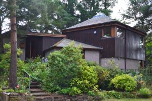 Arkitekten George Ripleys private hjem.