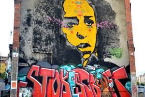 Bristol vælter i lækker street art. Hele huse er udsmykket med grafitti.